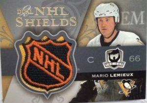 Dual Logo Shield Front Mario Lemieux