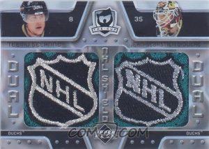 Dual NHL Shield Teemu Selanne, Jean-Sebastien Giguere