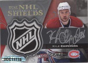 Dual logo Auto Shields Back Kyle Chipchura