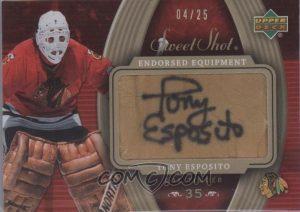 Endorsed Equipment Tony Esposito