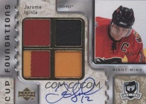 Foundations Patch Auto Jarome Iginla