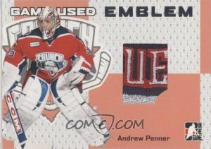 Game-Used Emblem Andrew Penner