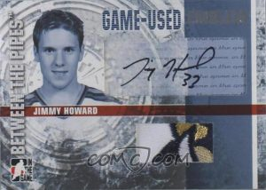 Game-Used Emblem Autograph Jimmy Howard