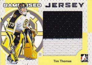 Game-Used Jersey Tim Thomas