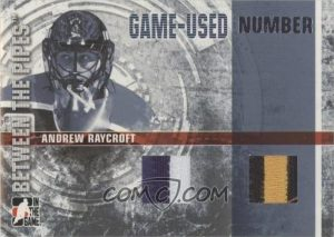 Game-Used Number Andrew Raycroft
