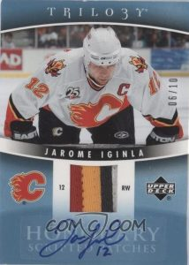 Honorary Scripted Patches Jarome Iginla