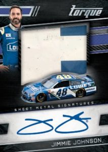 Silhouettes Sheet Metal Signatures Jimmie Johnson