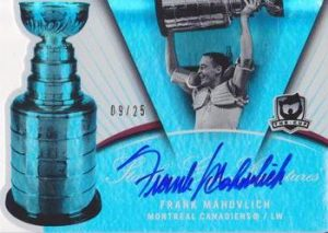 Stanley Cup Signatures Frank Mahovlich