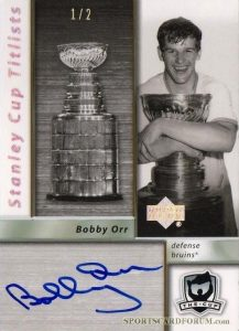 Stanley Cup Titlists Bobby Orr