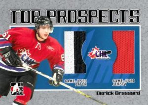 Top Prospects Game Derick Brassard