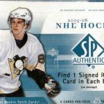 2005-06 SP Authentic Box