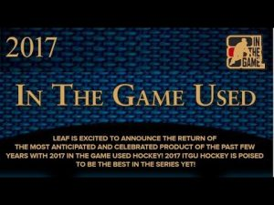 2017 Leaf In The Game Used Banner