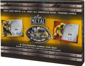 2017 Leaf Metal Army All-American Football Box