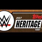 2017 Topps WWE Heritage Banner