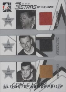 3 Stars of the Game Doug Harvey, Ted Kennedy, Bill Durnan