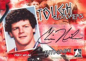 Autograph Battles Chris Nilan