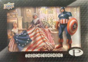 Classic Art Shadowbox Captain America