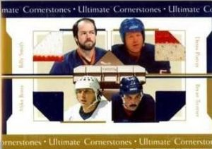 Cornerstones Billy Smith, Denis Potvin, Bryan Trottier, Mike Bossy