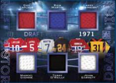 Draft History Guy Lafleur, Marcel Dionne, Rick Martin, Terry O'Reilly, Larry Robinson, John Garrett
