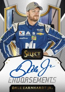 Endorsements Autographs Dale Earnhardt Jr