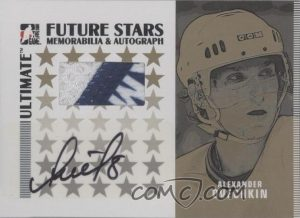 Future Stars Mem and Auto Gold Alexander Ovechkin