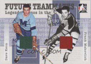 Future Teammates Dave Keon, Frank Mahovlich