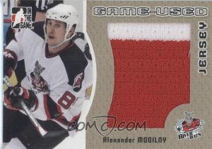 Game-Used Jersey Gold Alexander Mogilny