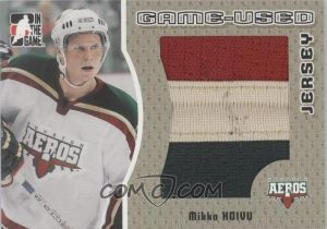 Game-Used Jersey Gold Mikko Koivu