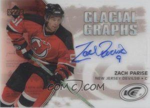 Glacial Graphs Label Zach Parise