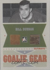 Goalie Gear Bill Durnan