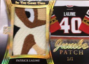 Jumbo Patch Patrick Lalime