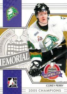 Memorial Cup Corey Perry