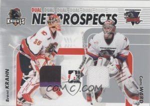 Net Prospects Dual Brent Krahn. Cam Ward