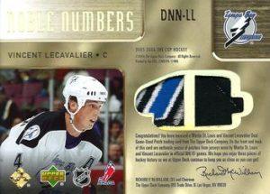 Noble Numbers Dual Back Vincent Lecavalier