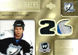 Noble Numbers Dual Front Martin St. Louis