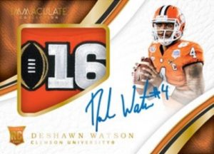 Premium Patches Rookie Auto Deshawn Watson