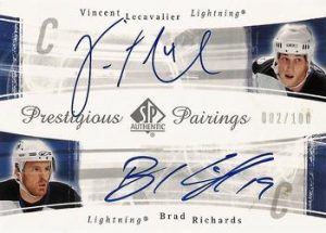 Prestigious Pairings Vincent Lecavalier, Brad Richards