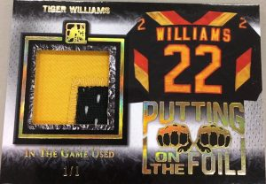 Putting on the Foil Tiger Williams
