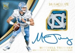 Rookie Patch Autographs Mitchell Trubisky
