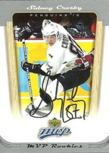 Rookie Sidney Crosby
