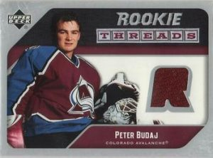 Rookie Threads Peter Budaj