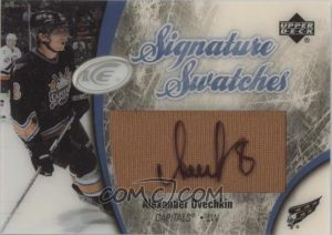 Signature Swatches Alexander Ovechkin