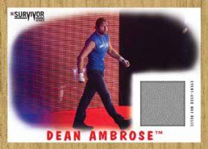Survivor Series 2016 Mat Relics Dean Ambrose