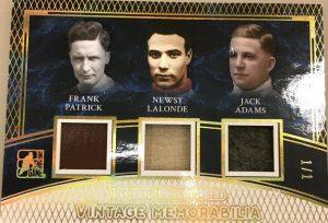 Vintage Memorabilia 3 Frank Patrick, Newsy Lalonde, Jack Adams