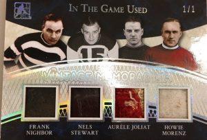 Vintage Memorabilia 4 Frank Nighbor, Nels Stewart, Aurele Joliat, Howie Morenz