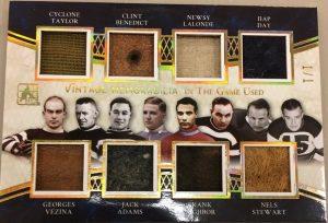 Vintage Memorabilia 8 Cyclone Taylor, Clint Benedict, Newsy Lalone, Hap Day, Georges Vezina, Jack Adams, Frank Nighbor, Nels Stewart