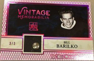 Vintage Memorabilia Bill Barilko