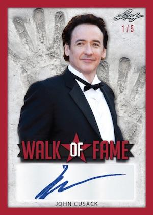 Walk of Fame Auto John Cusak