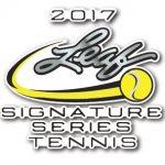 2017 Leaf Signature Series Tennis Thumb