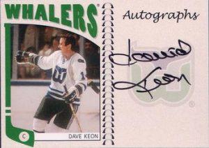 Autographs Dave Keon